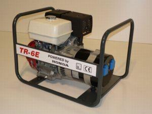 TR-6E HONDA motoros áramfejlesztő